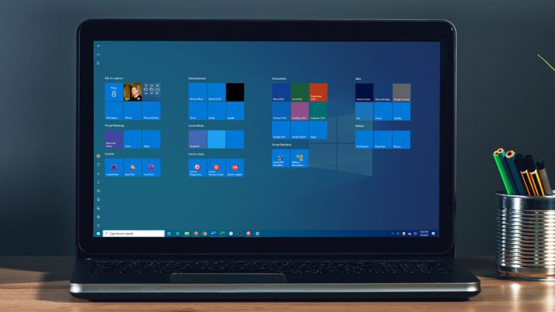 Cómo usar y ajustar la pantalla de inicio en Windows 10