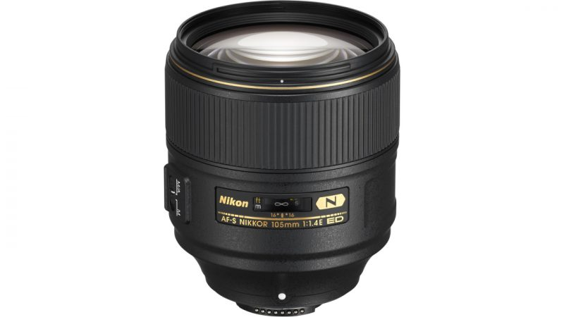 Revisión de Nikon AF-S Nikkor 105mm f / 1.4E ED